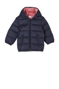 s.Oliver baby gewatteerde winterjas donkerblauw, Donkerblauw