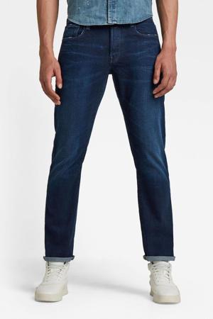 3301 straight fit jeans worn in ultramarine