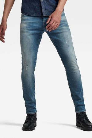 Revend skinny skinny jeans antic faded monaco blue destroyed