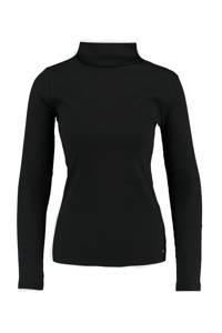 America Today ribgebreide trui zwart, Zwart
