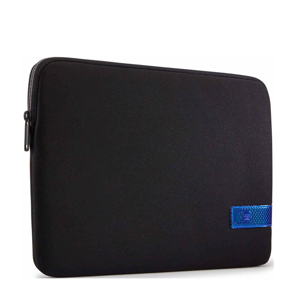 Case Logic Reflect 13 inch laptop sleeve (zwart/grijs), Zwart/grijs