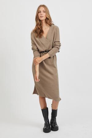 gebreide jurk VIMADELIA lichtbruin