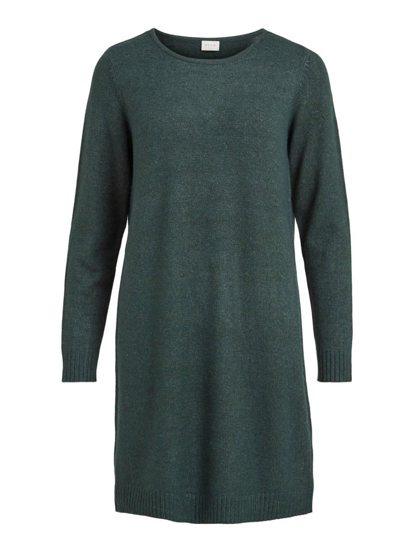 VILA T-shirtjurk VIRIL donkergroen, Donkergroen