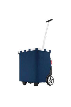 boodschappentrolley Shopping Carrycruiser donkerblauw
