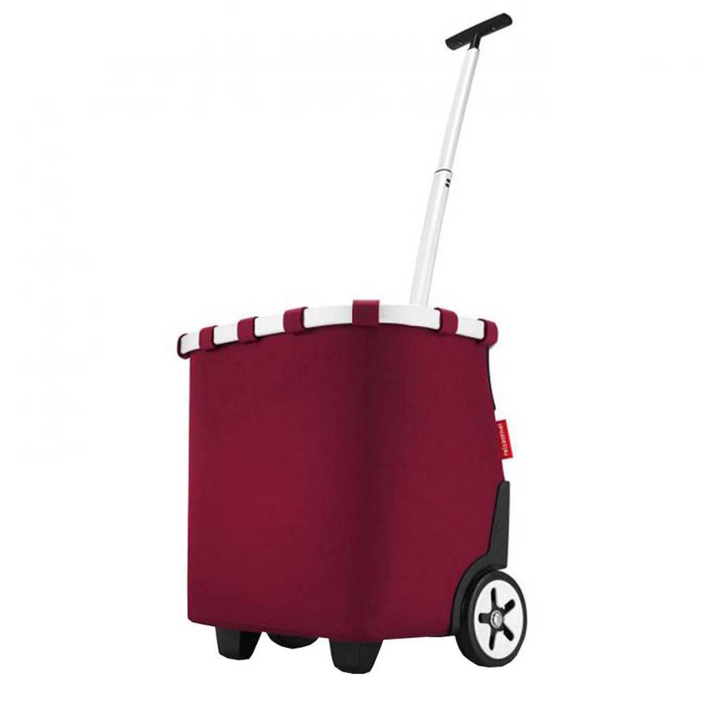 Reisenthel  boodschappentrolley Shopping Carrycruiser donkerrood, Donkerrood