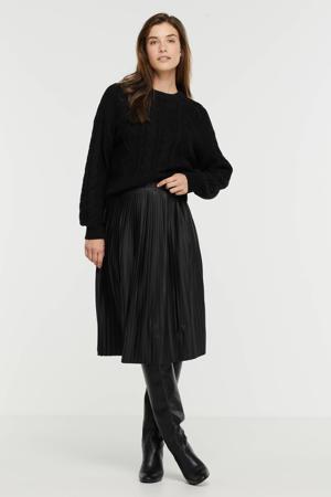 coated rok IHKATH zwart