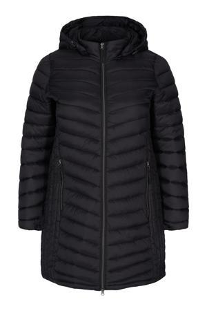 gewatteerde jas MSALLY zwart