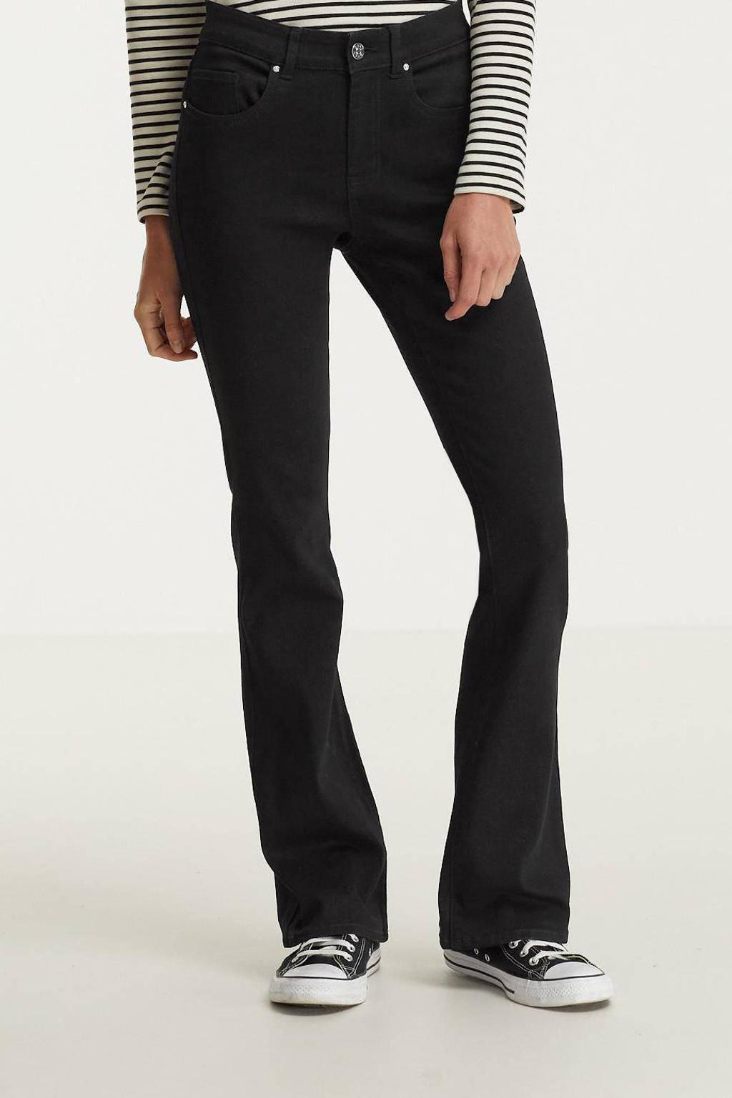 ONLY flared jeans ONLHUSH black, Black