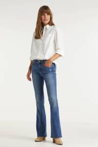 ONLY flared jeans ONLHUSH medium blue denim, Medium blue denim