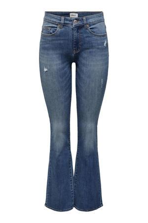 flared jeans ONLHUSH medium blue denim