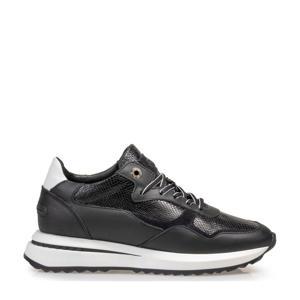 SUMI  leren sneakers zwart