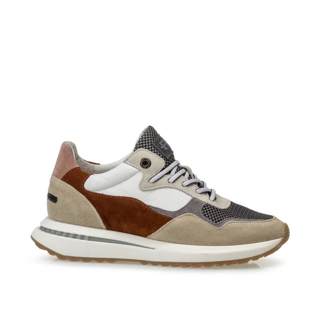 Floris van Bommel SUMI  suède sneakers beige/multi, Beige/multi
