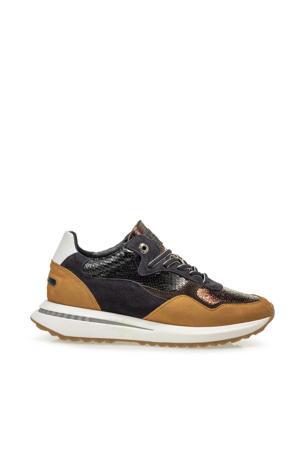 SUMI  leren sneakers koper/multi