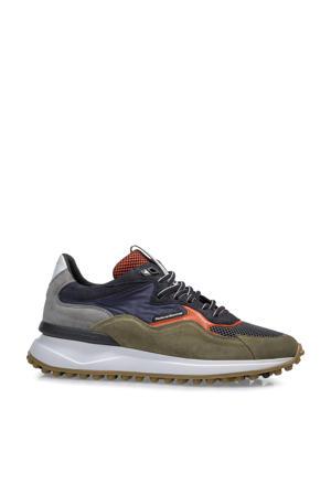 Noppi  suède sneakers groen/multi