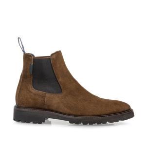 Sturdi  suède chelsea boots cognac