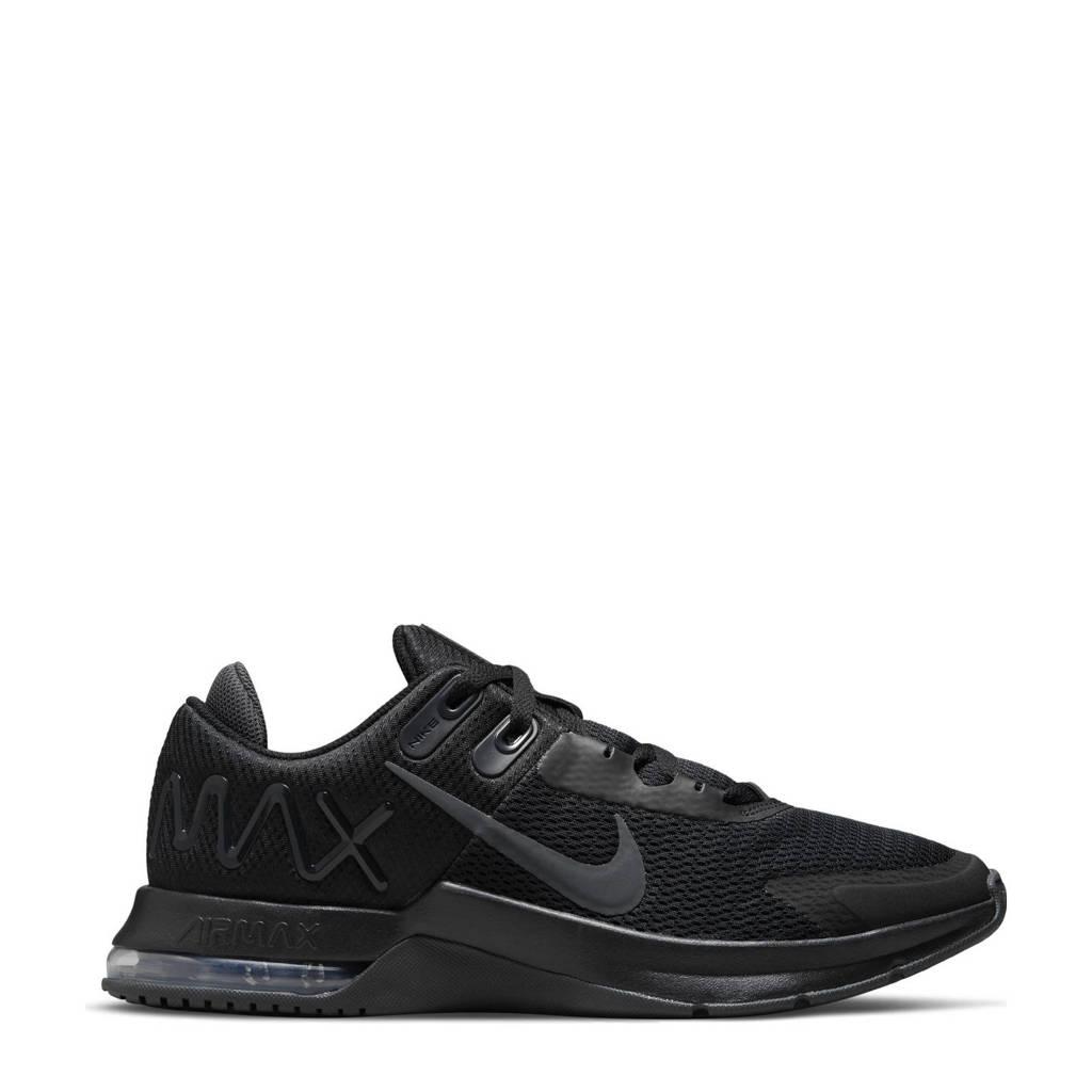 Nike Air Max Alpha Trainer 4 fitness schoenen lichtgrijs/wit/roo zwart/antraciet, Zwart/antraciet