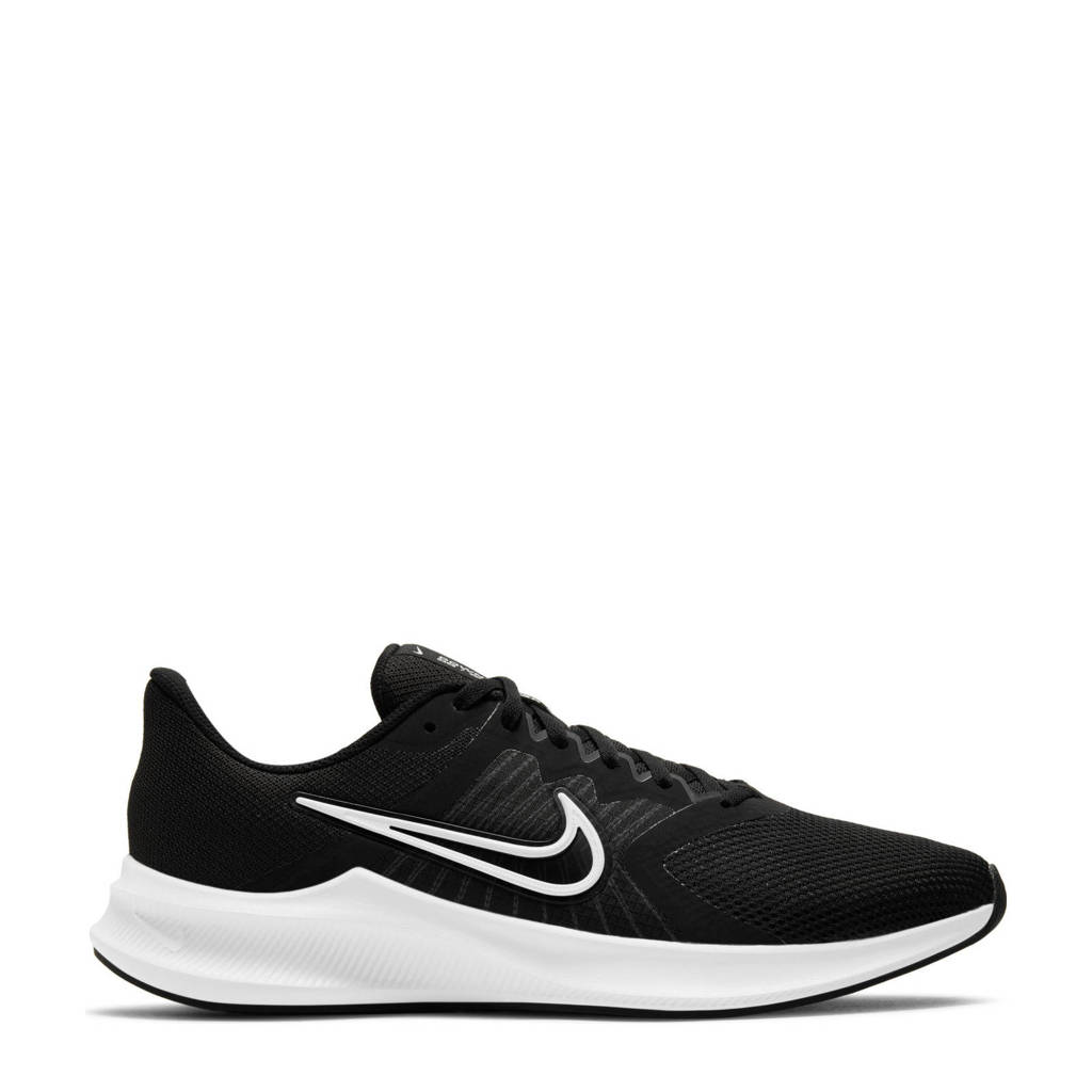 Nike Downshifter 11 hardloopschoenen zwart/wit/grijs, Zwart/wit/grijs