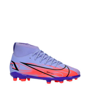 Superfly 8 Club Kylian Mbappé MG voetbalschoenen paars/rood