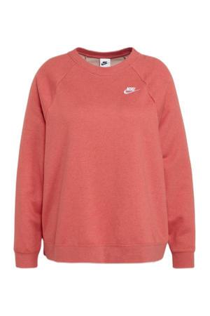 Plus Size sweater roze