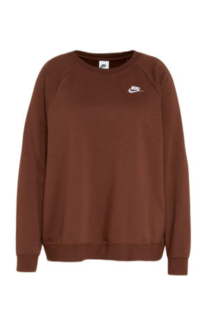 Plus Size sweater brons