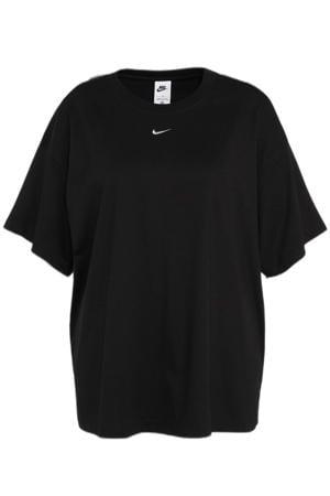 Plus Size sport T shirt zwart