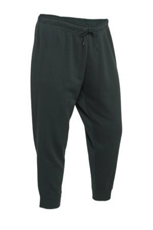 Plus Size joggingbroek zwart
