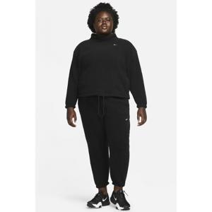 fleece trainingsbroek zwart