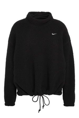 fleece sportsweater zwart