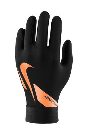 Junior  Jr. veldspeler sporthandschoenen Academy Hyperwarm '20 zwart/oranje