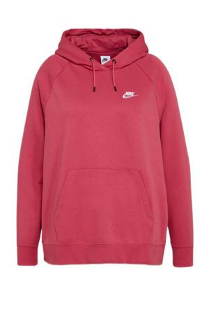 Plus Size sportsweater roze