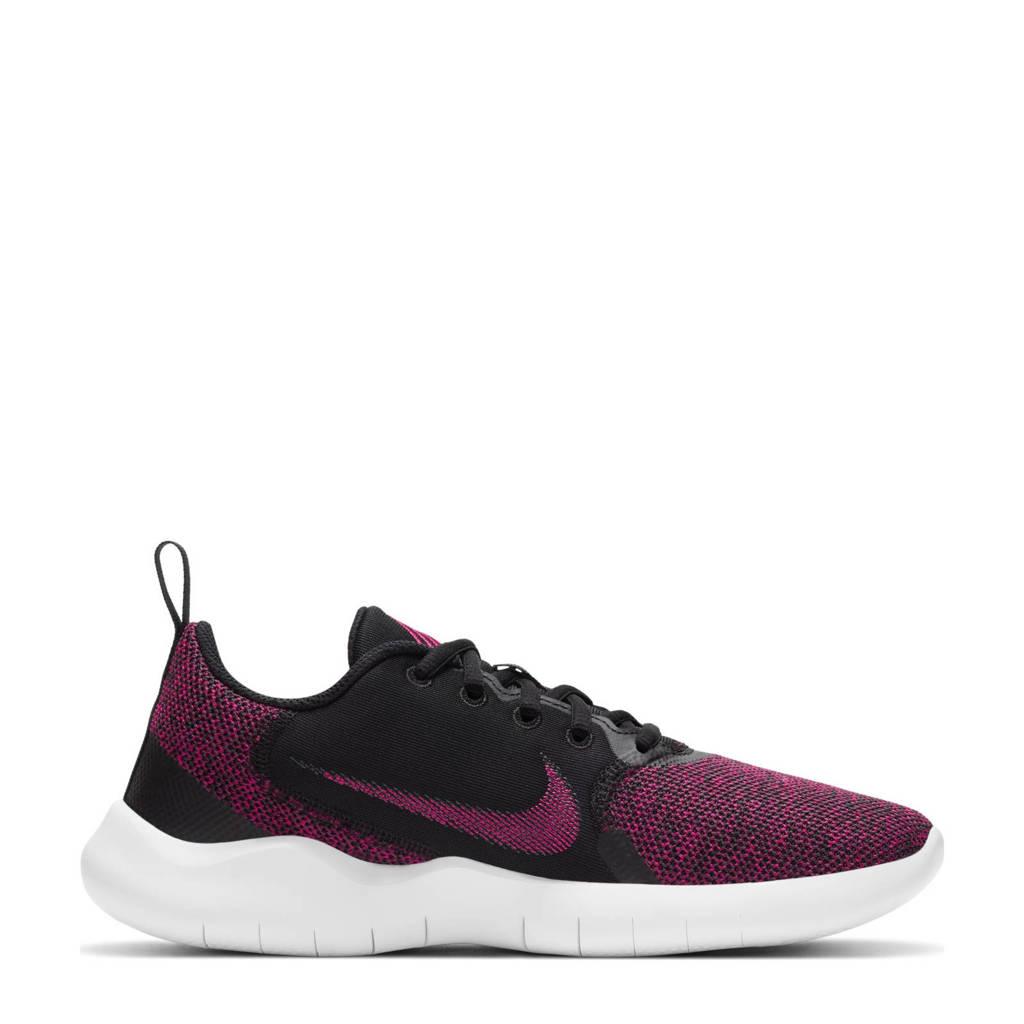 Nike Flex Experiencce Run 10 hardloopschoenen zwart/fuchsia/grijs, zwart/fuchsia/antraciet