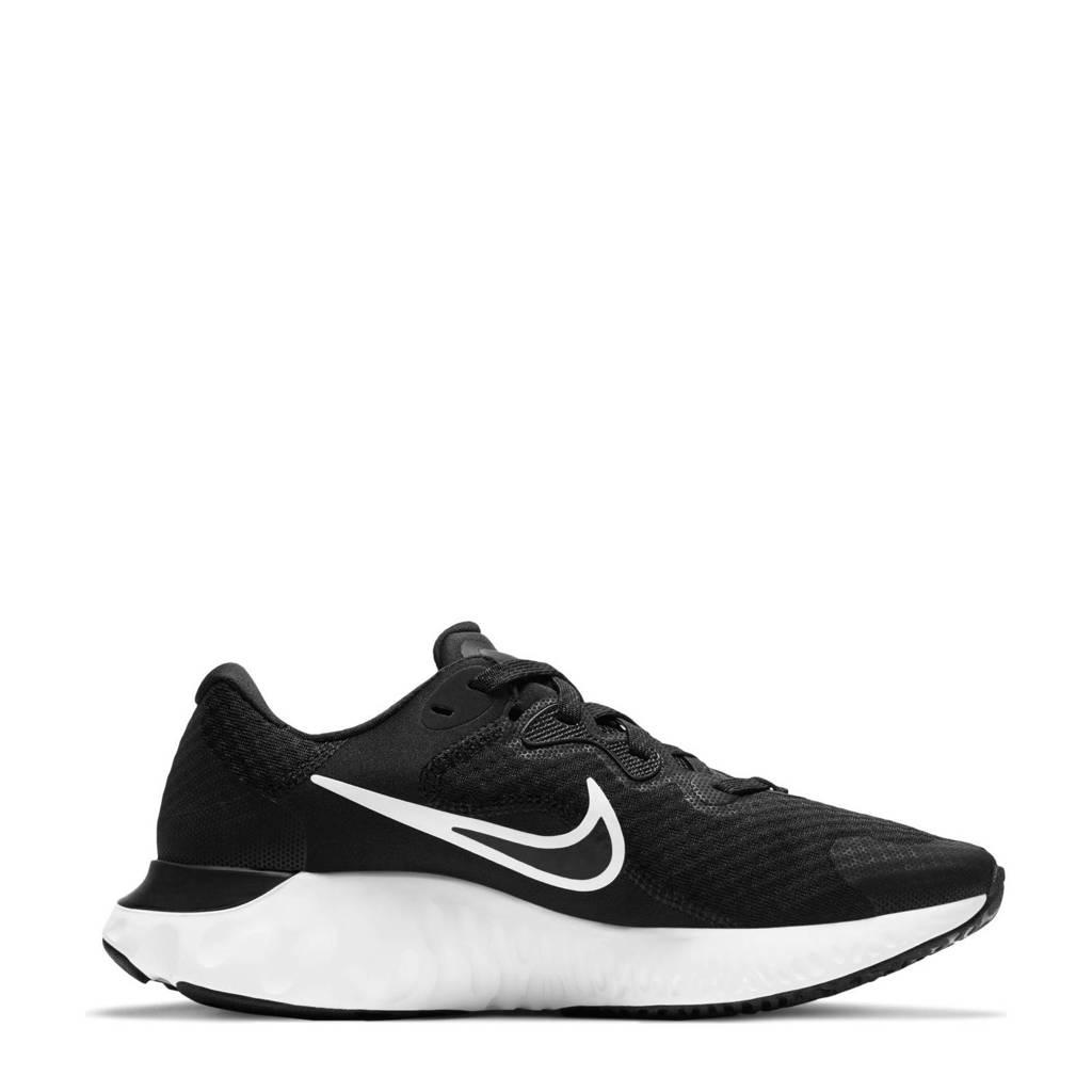 Nike Renew Run 2 hardloopschoenen zwart/wit/grijs, Zwart/wit/grijs