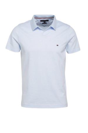 slim fit shirt lichtblauw