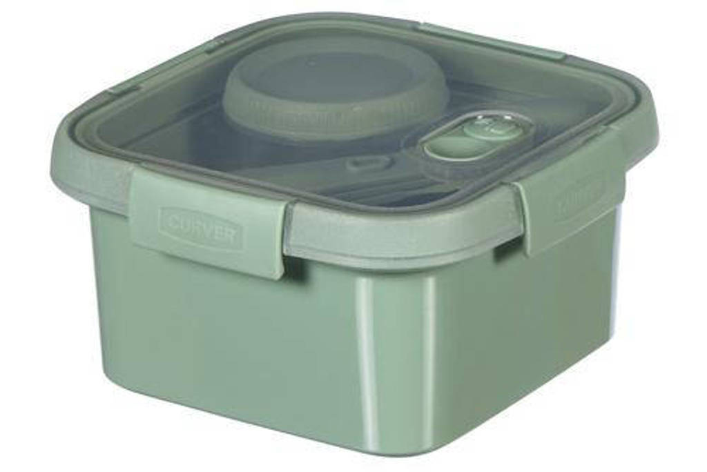 Curver lunchbox Smart To Go Eco, Groen