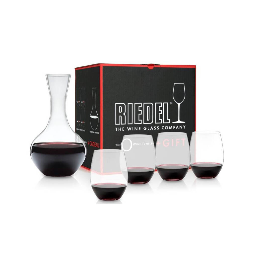 Riedel wijnglas O Wine (set van 5), Transparant