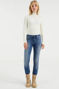 WE Fashion Blue Ridge slim fit jeans vintage blue, Vintage blue