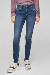 Q/S designed by slim fit jeans dark denim, Dark denim