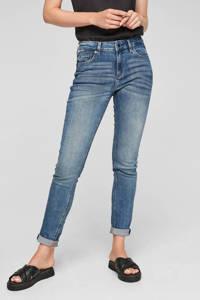 Q/S designed by skinny jeans blauw, Blauw