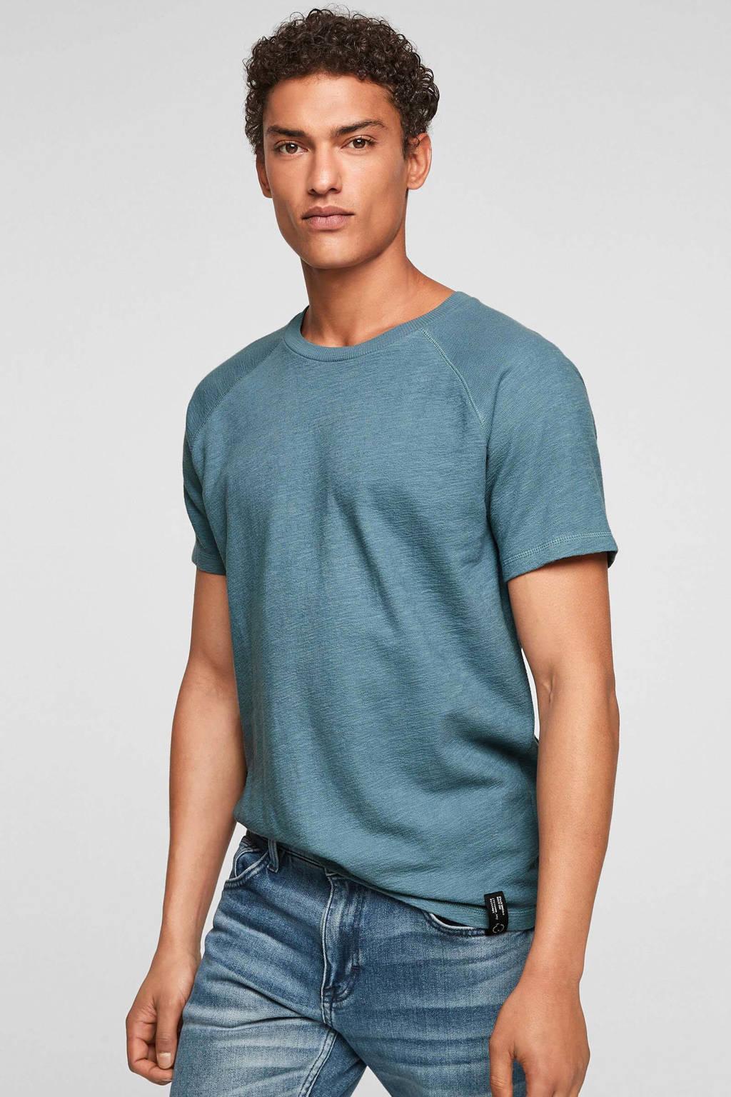 Q/S designed by T-shirt lichtblauw, Lichtblauw