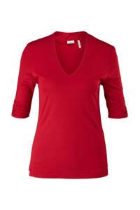 s.Oliver BLACK LABEL slim fit T-shirt rood, Rood