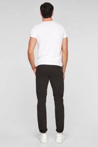 Q/S designed by regular fit broek zwart, Zwart