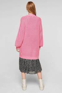 Q/S designed by grofgebreid kabelvest roze, Roze