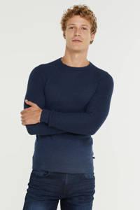 Q/S designed by fijngebreide trui donkerblauw, Donkerblauw