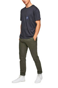 s.Oliver T-shirt donkerblauw, Donkerblauw