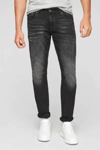 Q/S designed by slim fit jeans antraciet, Antraciet