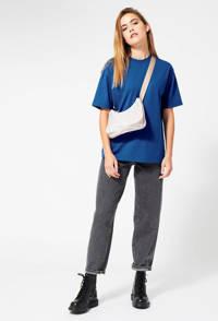 America Today oversized T-shirt Elva blauw, Blauw