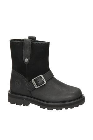 Courma Biker  nubuck boots zwart