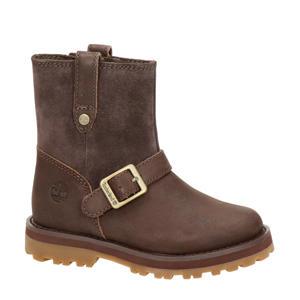 Courma Biker  nubuck boots cognac