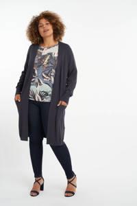 MS Mode vest donkerblauw, Donkerblauw