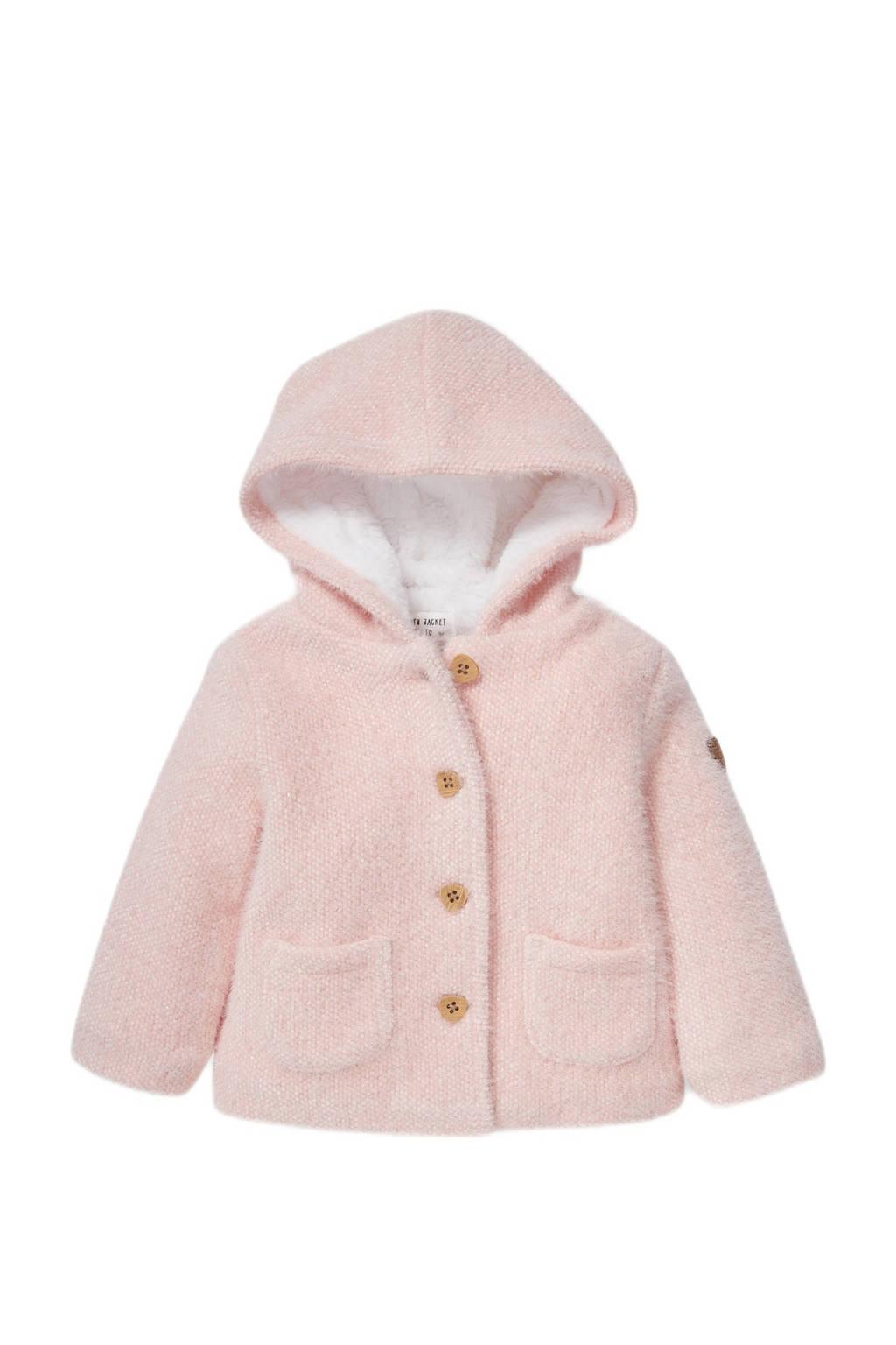 C&A Baby Club baby winterjas lichtroze, Lichtroze